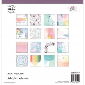 """Pinkfresh Studio Double-Sided Paper Pack 12""""X12"""" Just Lovely"""