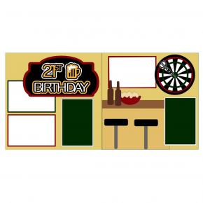 21st Birthday Boy Kit
