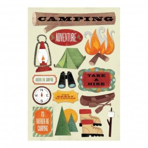 Rather Be Camping Stickers