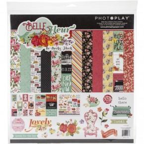 Photo Play Bella Fleur Paper Pack