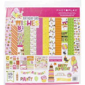 Birthday Girl Wishes Paper Pack