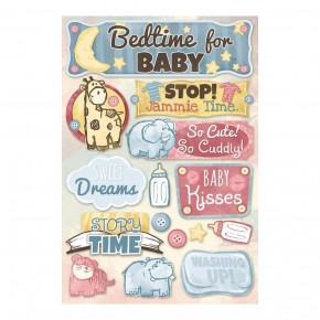 Bedtime for Baby Stickers