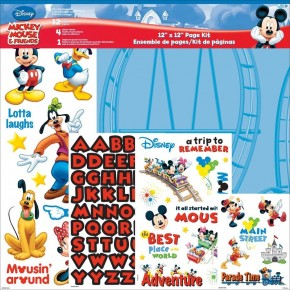 Mickey Mouse and Friends Paper Pack