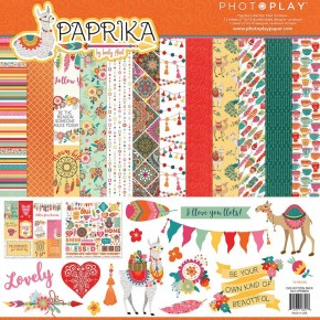 Paprika Paper Pack