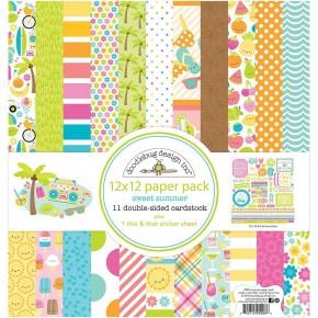 Doodlebug Sweet Summer Paper Pack