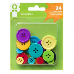 American Crafts Family Fun  Buttons