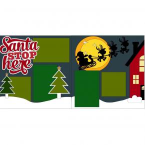 Santa Stop Here Kit