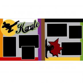 Karate Girl kit