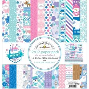 Doodlebug Winter Wonderland Paper Pack