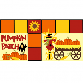 Pumpkin Patch Crow kit