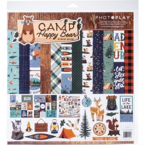 Camp Happy Bear Paper Pack