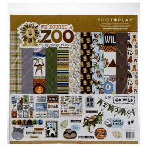 Photo Play We Bought A Zoo Paper Pack