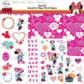 Minnie and Friends Paper Pack