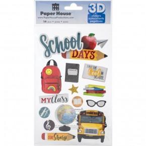 School 3D Stickers