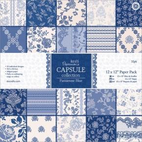 Parisienne Blue Paper Pack