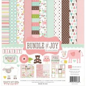 Echo Park Bundle of Joy Girl Paper Pack