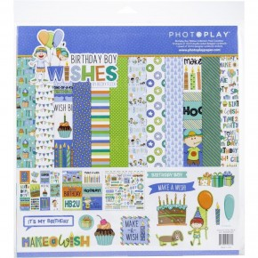 Birthday Boy Wishes Paper Pack