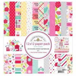 Doodlebug Love Notes Paper Pack