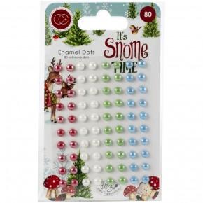 It's Snome Time Enamel Dots