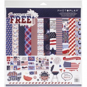 Photo Play Land of the Free Paper Pack