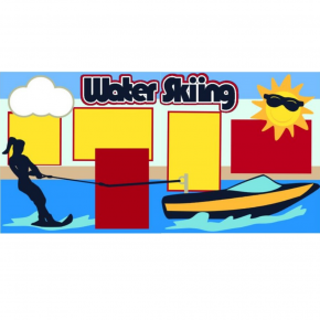 Water Skiing Girl kit