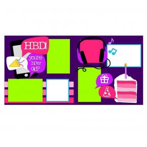 Happy Birthday Teen Girl Kit