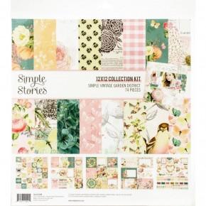 Simple Vintage Garden District Paper Pad