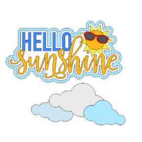 Hello Sunshine Die Cuts