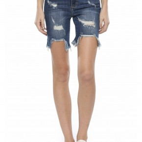 Bella Bermuda Denim Shorts