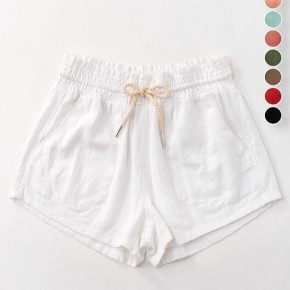 Scout Linen Shorts - White