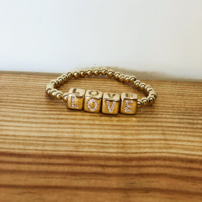 Love Block Bracelet
