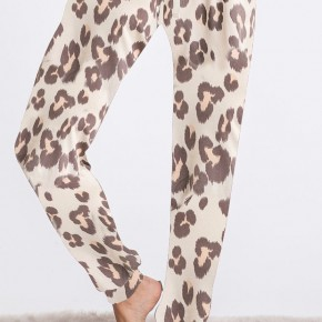 Loungin' Leopard Pants