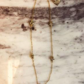 Love, Poppy CZ Star Necklace