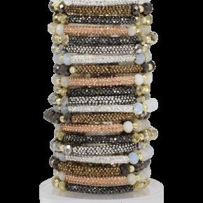 Erimish Neutral Glitter Bracelet
