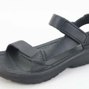 Weekend at the Lake Sandals - Black