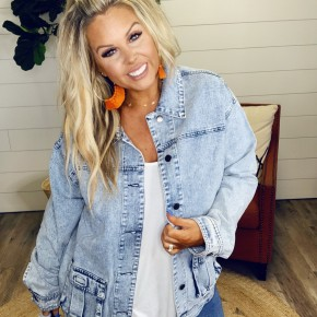 Vintage Vibes Denim Jacket
