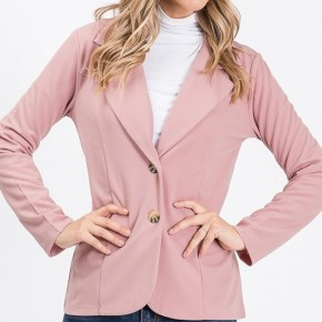 LONG SLEEVE TWO BUTTON BLAZER - True to size