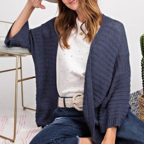 I'm Yours Textured Cardigan