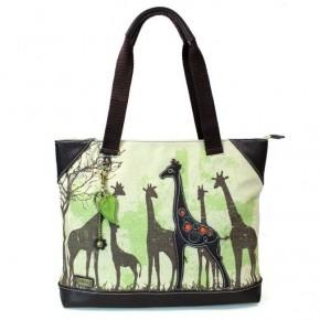 Chala Safari Giraffe - Canvas Tote
