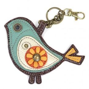 Chala - Bird II - Key Fob/Coin Purse