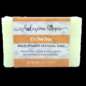 6.6oz C's The Day Multi-Vitamin Artisanal Handmade Soap