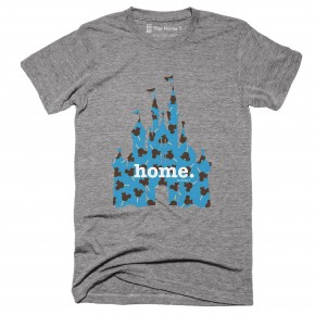Home at the Castle Graphic Tee in Pattern
