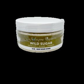 8oz WH Raw Sugar Scrub - Wild Sugar