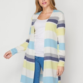 HoneyMe Striped Cardigan