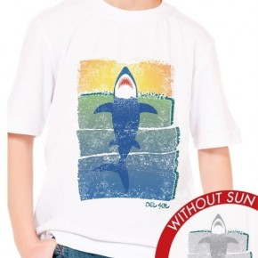 Kid's Crew Tee - Rising Shark
