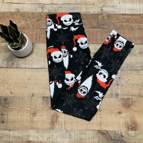 Jack Skellington Christmas Kids Leggings