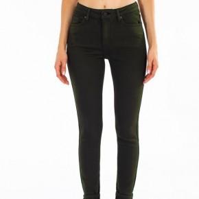 Kancan Gemma High Rise Olive Skinny Jeans