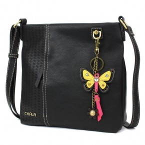 Chala Mini Yellow Butterfly - Laser Cut Crossbody