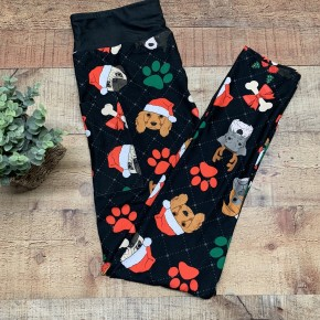 Christmas Dogs Kids Leggings