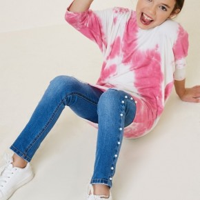 **ME** Youth Tie Dye Dolman Sleeve Top - True to size